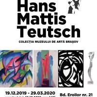 """Expoziția """"Hans Mattis-Teutsch. Colecţia Muzeului de Artă Braşov"""""""