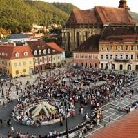 Filarmonica Brașov reia concertele in aer liber