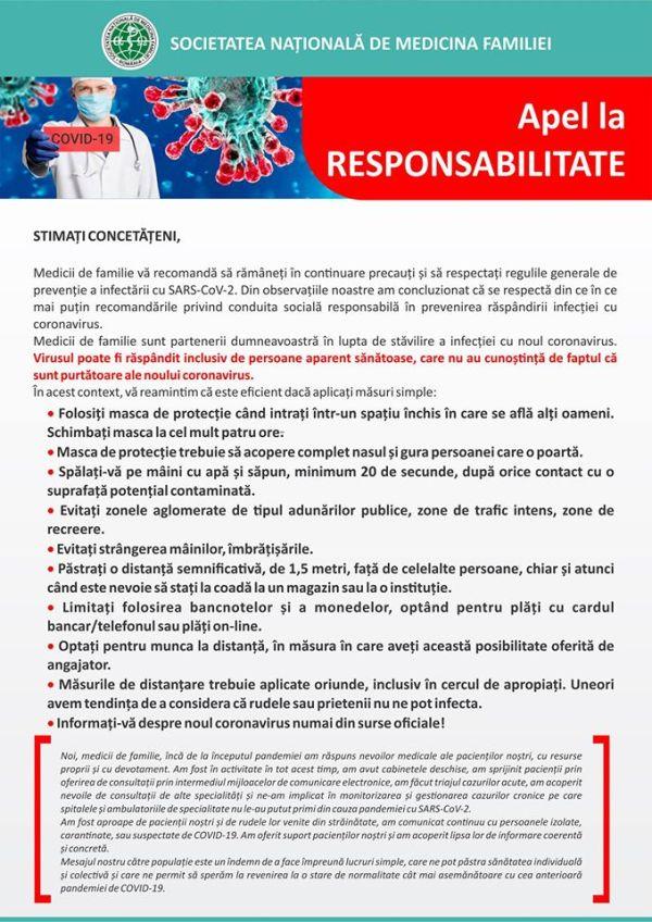 apel la responsabilitate