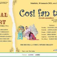 """Festivalul MOZART: """"Così fan tutte"""""""