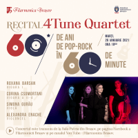 60 de ani de pop – rock, in 60 de minute, cu 4TuneQuartet!