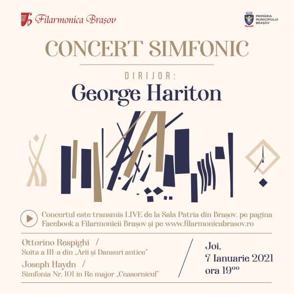 Filarmonica Brasov - dirijor George Hariton - Facebook postare