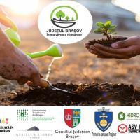 Județul Brașov - Inima verde a României! Acțiuni de conștientizare a comunităților brașovene asupra amprentei vieții personale asupra mediului