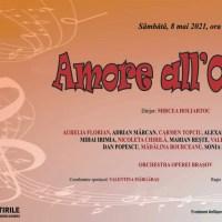 """Vă invităm la Gala de operă """"Amore all'Opera"""""""