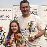 Braşoveancă, triplă campioană naţională de şah, la categoria 10 ani