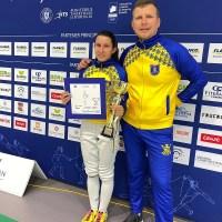 Corona Brasov locul 2 la Cupa Romaniei spada. Ștefania Lopătaru, surpriza Coronei la Cupa României de spadă U17!