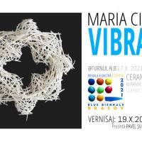 """Bienala Albastră la Turnul Alb: """"Vibrații"""" - Maria Cioată"""