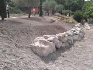 vue de la préparation du sol fini