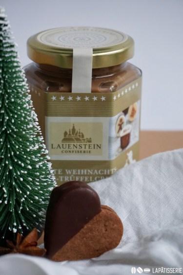 Die weihnachtliche Trüffelcreme von Lauenstein gibt's online oder im Handel.