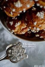 Da werden Erinnerungen an Paris geweckt. Französische Chouquette, der beste süße Snack.