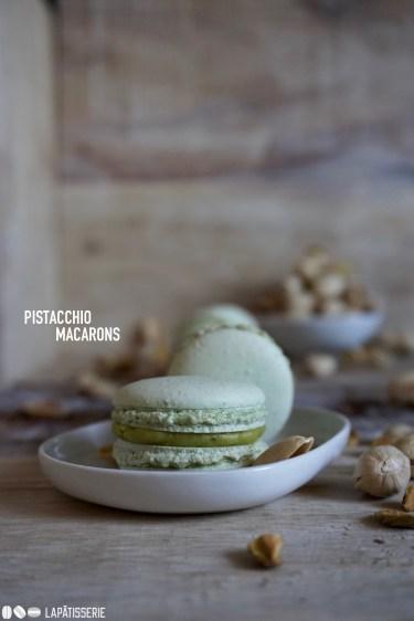 Klein und fein, das sind die Pistazien-Macarons auf jeden Fall.