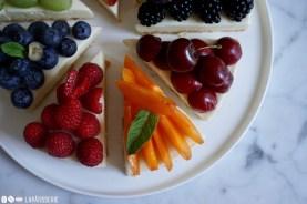 Sommer mit viel Früchten und Cheesecake. Alles in allem perfekt und schnell gemacht.