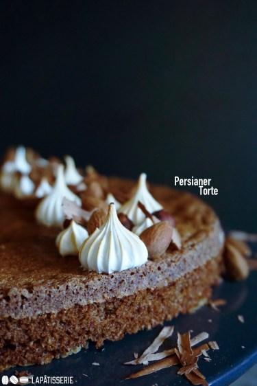 Da stecken Kindheitserinnerungen drin: Persianer Torte mit Mandeln und Haselnüssen.