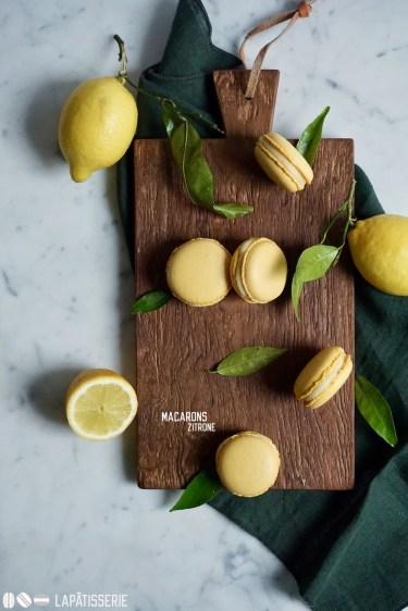 Macarons für den Hunger zwischendurch mit Zitrone.