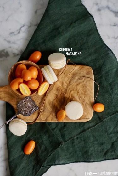 Kumquat Macarons