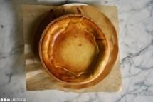 Schritt 2: Käsemasse herstellen und Käsekuchen backen.