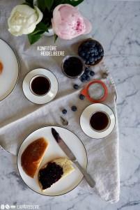 Perfekt für die Vorratsküche: Selbstgemachte Heidelbeerkonfitüre