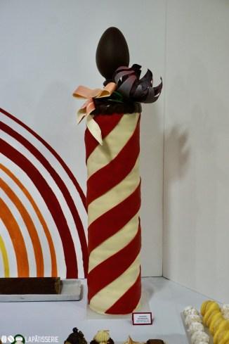 Baumkuchen nach Salzwedler Art mit Aufsatz aus Schokolade