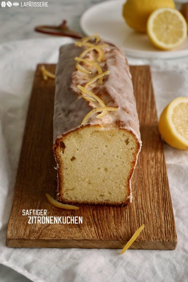Saftiger Zitronenkuchen mit Buttermilch. Super schnell gemacht und richtig luftig.