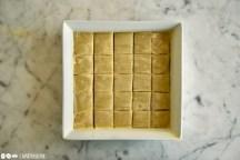 Schritt 6: Baklava zuschneiden