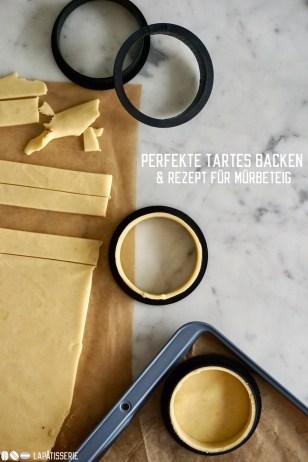 Erfahrt Schritt-für-Schritt wie ihr perfekte Tartes backt und dazu gibt's ein Rezept für einen flexiblen Mürbeteig.