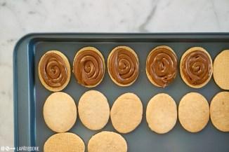 Schritt 7: Kekse füllen