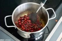 Schritt 2: Cranberries zugeben