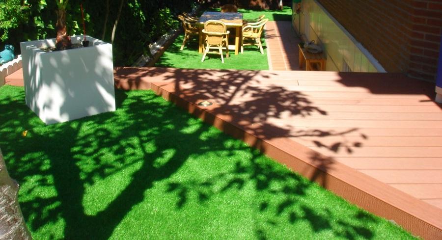 tarimas de exterior terrazas jardines