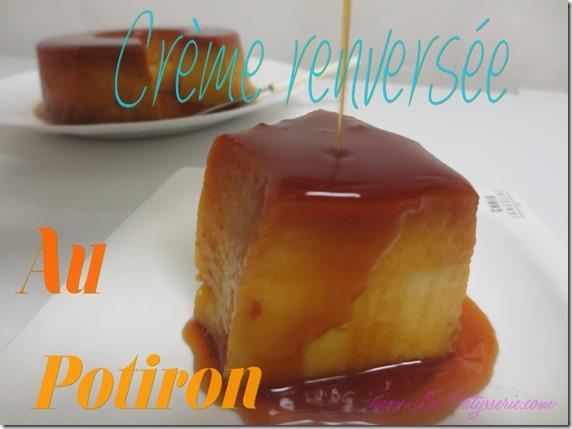 crème renversée au potiron