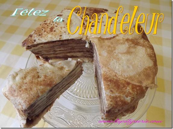 gâteau au crêpes chandeleur