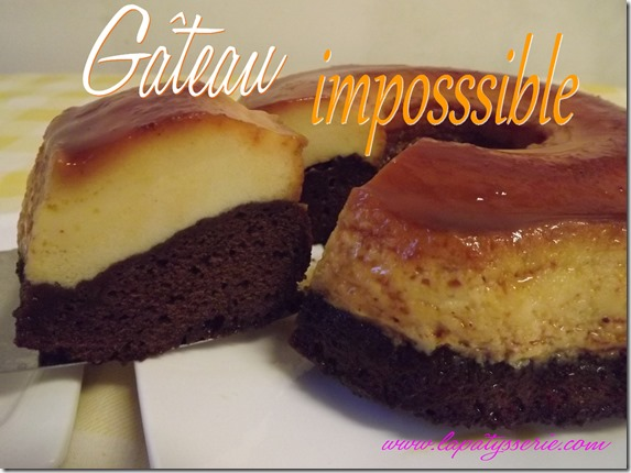 gâteau impossible