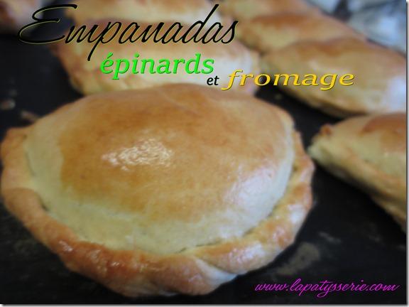 empanadas épinard-fromage