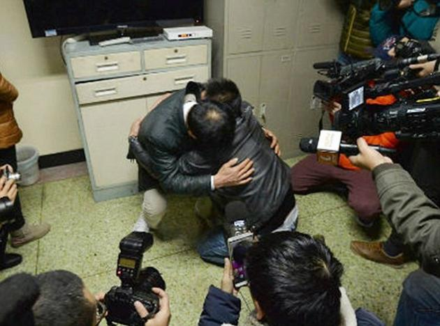 VID: Moment Abducted Man Meets Father after 24 Years