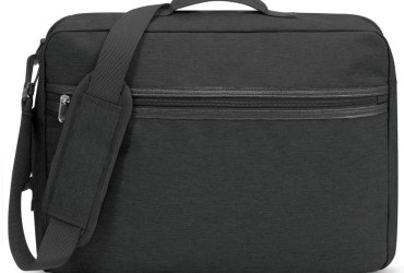 BLANKSLATE by Solo Mens Hybrid Professional Convertible Briefcase Black O/S