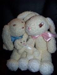 Vanilla Bunny Family