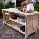 Shoe Rack Bench Good In Small Area Royals Courage