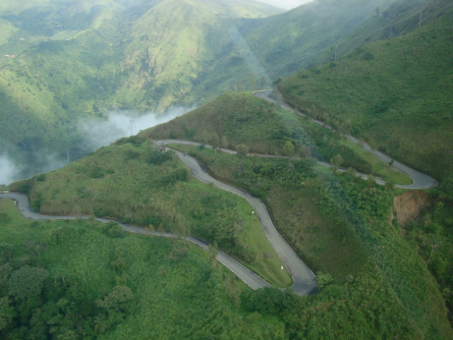 the long winding road leading to obudu resort
