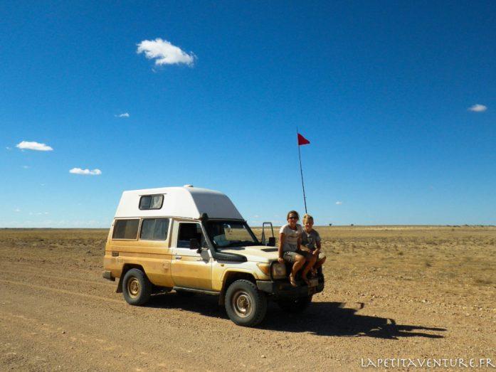drapeau du désert du Simpson