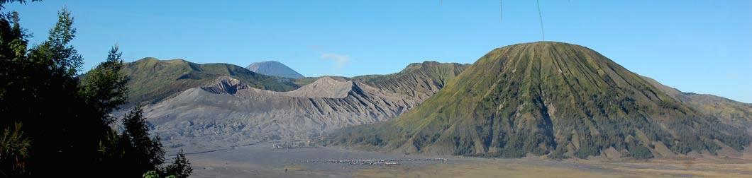 volcans de l'est de java