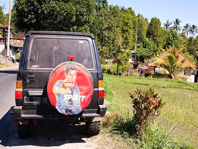 4x4 à Bali