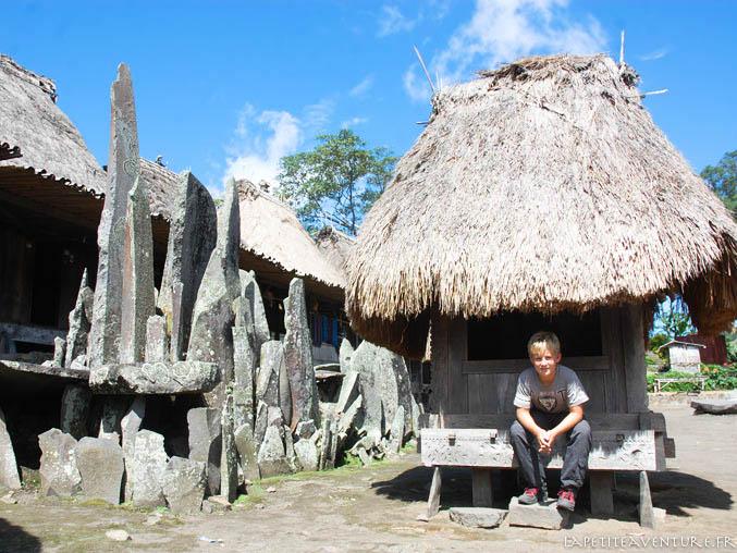 village typique indonésien
