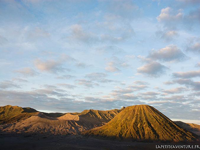 paysage au Bromo