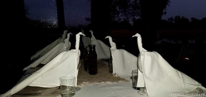 La table du dîner