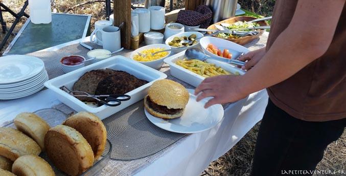 hamburger de brousse