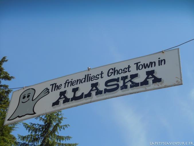 entrée de l'Alaska