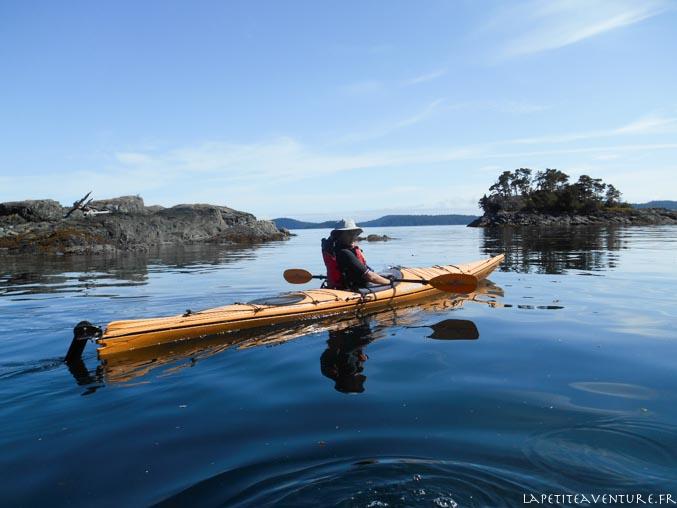 kayak dans le johnstone strait