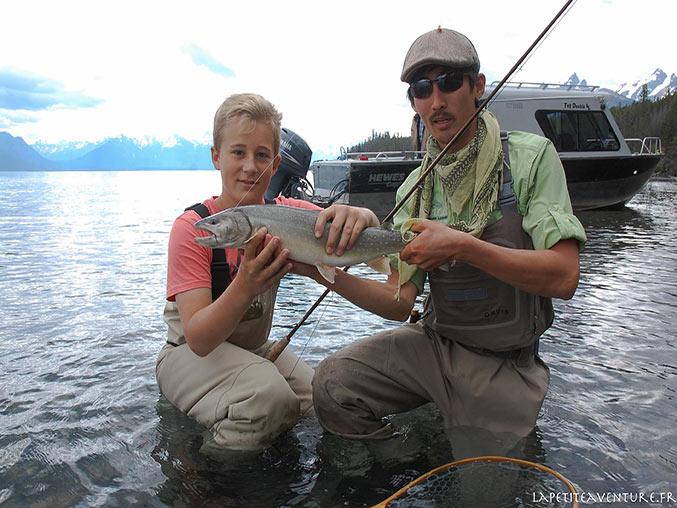 saumon et pêche à la mouche