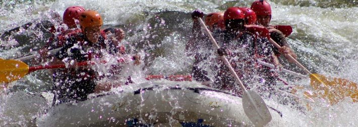 bateau de raft au zimbabwe