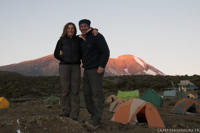 la petite aventure et le kilimandjaro