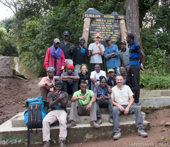 l'équipe du kilimandjaro